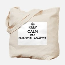 Keep calm I'm a Financial Analyst Tote Bag
