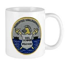 USS LEADER Small Mug