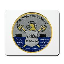 USS LEADER Mousepad