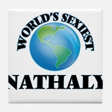 World's Sexiest Nathaly Tile Coaster