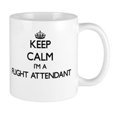 Keep calm I'm a Flight Attendant Mugs