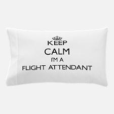 Keep calm I'm a Flight Attendant Pillow Case