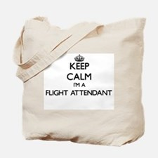 Keep calm I'm a Flight Attendant Tote Bag