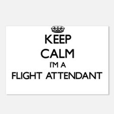 Keep calm I'm a Flight At Postcards (Package of 8)
