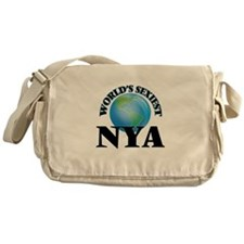 World's Sexiest Nya Messenger Bag