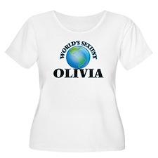 World's Sexiest Olivia Plus Size T-Shirt