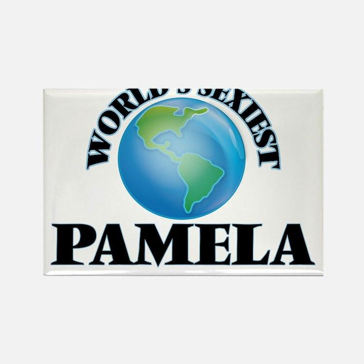 World's Sexiest Pamela Magnets