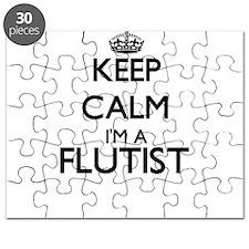 Keep calm I'm a Flutist Puzzle