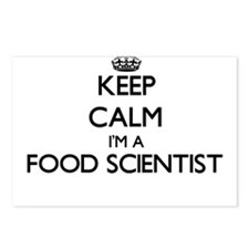 Keep calm I'm a Food Scie Postcards (Package of 8)