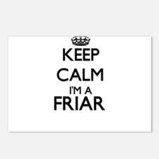 Keep calm I'm a Friar Postcards (Package of 8)