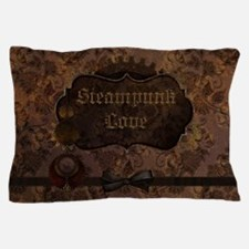 Steampunk Love 2 Pillow Case