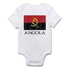 Angola Flag Infant Bodysuit