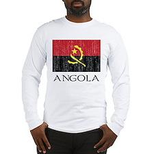 Angola Flag Long Sleeve T-Shirt