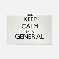 Keep calm I'm a General Magnets
