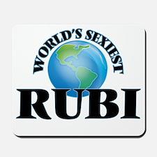 World's Sexiest Rubi Mousepad