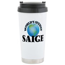 World's Sexiest Saige Travel Mug