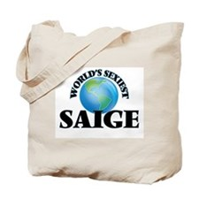 World's Sexiest Saige Tote Bag