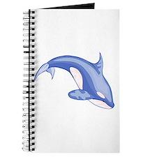 Blue killer whale / orca Journal