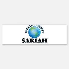 World's Sexiest Sariah Bumper Bumper Bumper Sticker