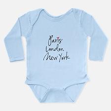 Paris, London, New York Body Suit