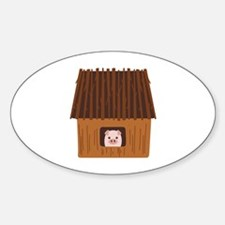 Stick House Pig Decal