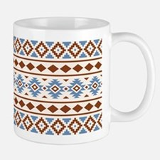 Aztec Essence Ii Rust Blue Cream Mug Mugs