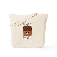 Beware Of Wolf Tote Bag
