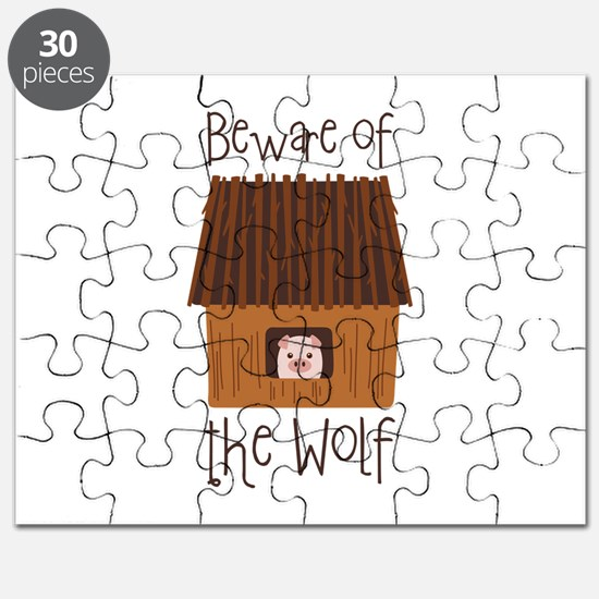Beware Of Wolf Puzzle