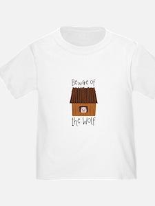 Beware Of Wolf T-Shirt