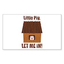 Little Pig Decal