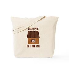 Little Pig Tote Bag