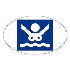 Nudist Beach (2), Norway Decal