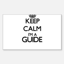 Keep calm I'm a Guide Decal