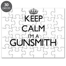 Keep calm I'm a Gunsmith Puzzle