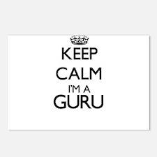 Keep calm I'm a Guru Postcards (Package of 8)