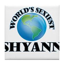 World's Sexiest Shyann Tile Coaster