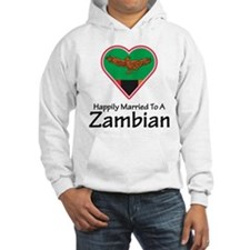 Happily Married Zambian Hoodie