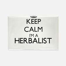 Keep calm I'm a Herbalist Magnets