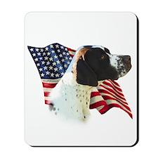 Pointer (Liver) Flag Mousepad