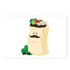 Funny Bag Of Beans Postcards (Package of 8)