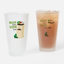 Bean There Drinking Glass