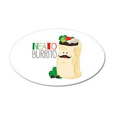 Neato Burrito Wall Decal