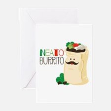 Neato Burrito Greeting Cards
