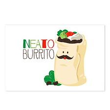 Neato Burrito Postcards (Package of 8)