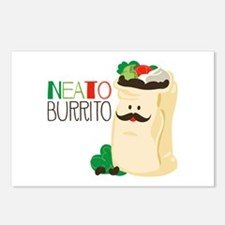 Neato Burrito Postcards (Package of 8)