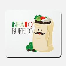 Neato Burrito Mousepad