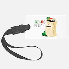 Neato Burrito Luggage Tag