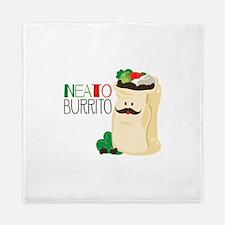 Neato Burrito Queen Duvet