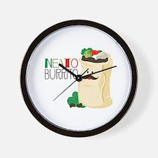 Neato Burrito Wall Clock