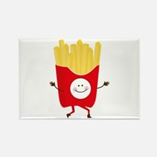 Happy Fries Magnets